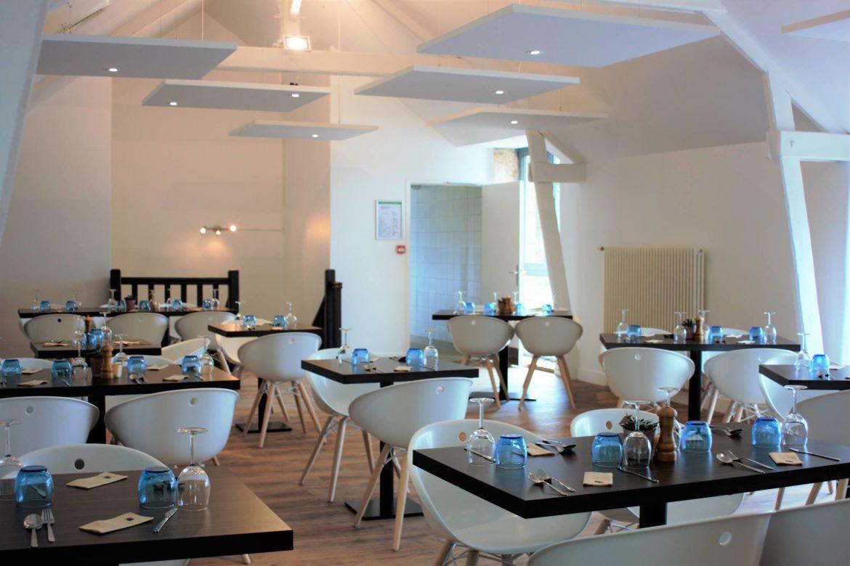 L'Auberge du Moulin Neuf salle de restaurant