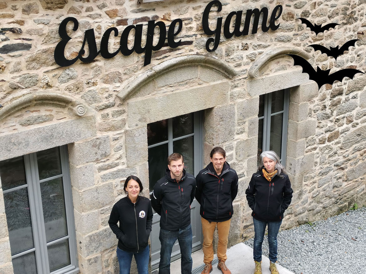 Equipe Escape Game-Moulin Neuf Aventure