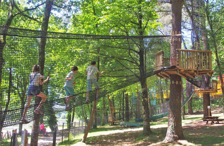 parcours arbres Moulin Neuf Aventure©recreatiloups