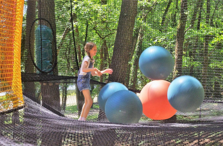 Parcours arbres Moulin Neuf Aventure @recreatiloups