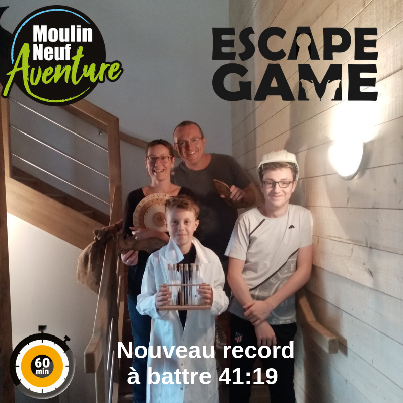 2019-07-29 Record Escape Game 41min19sec