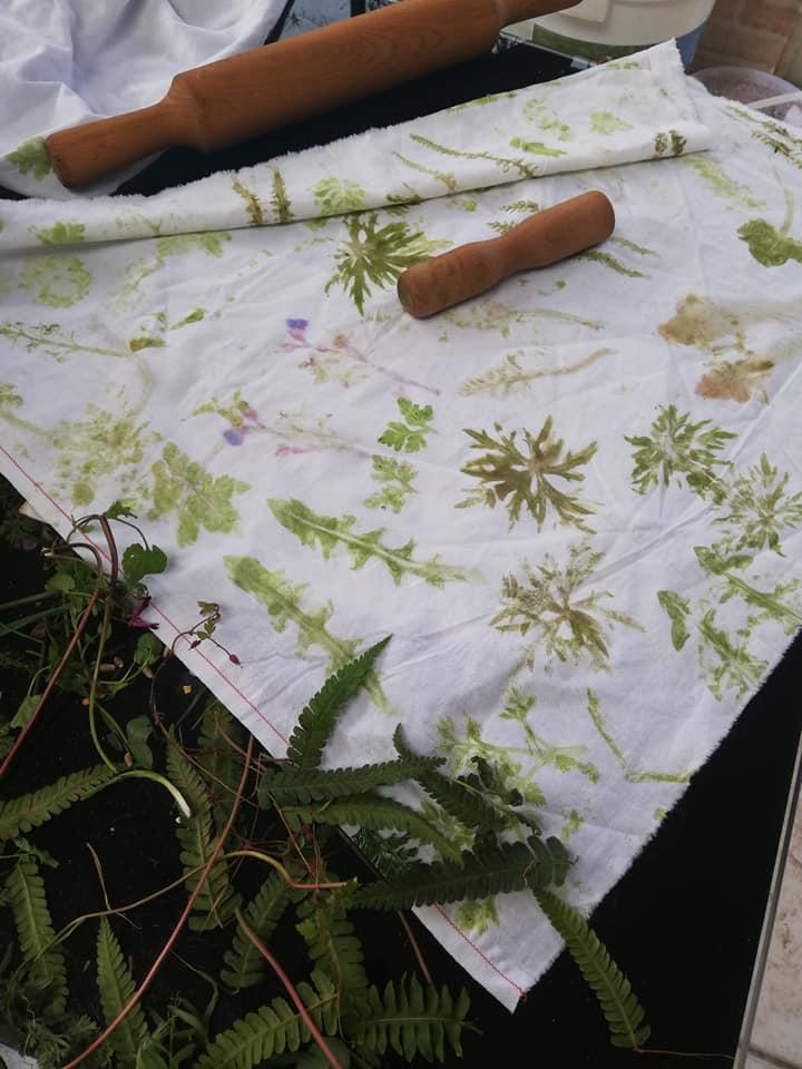 Empreintes végétales © Plumes et Papillons