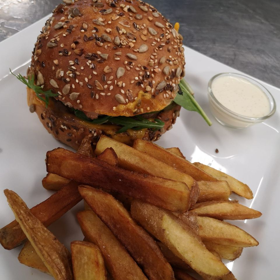 Burger Auberge du Moulin Neuf