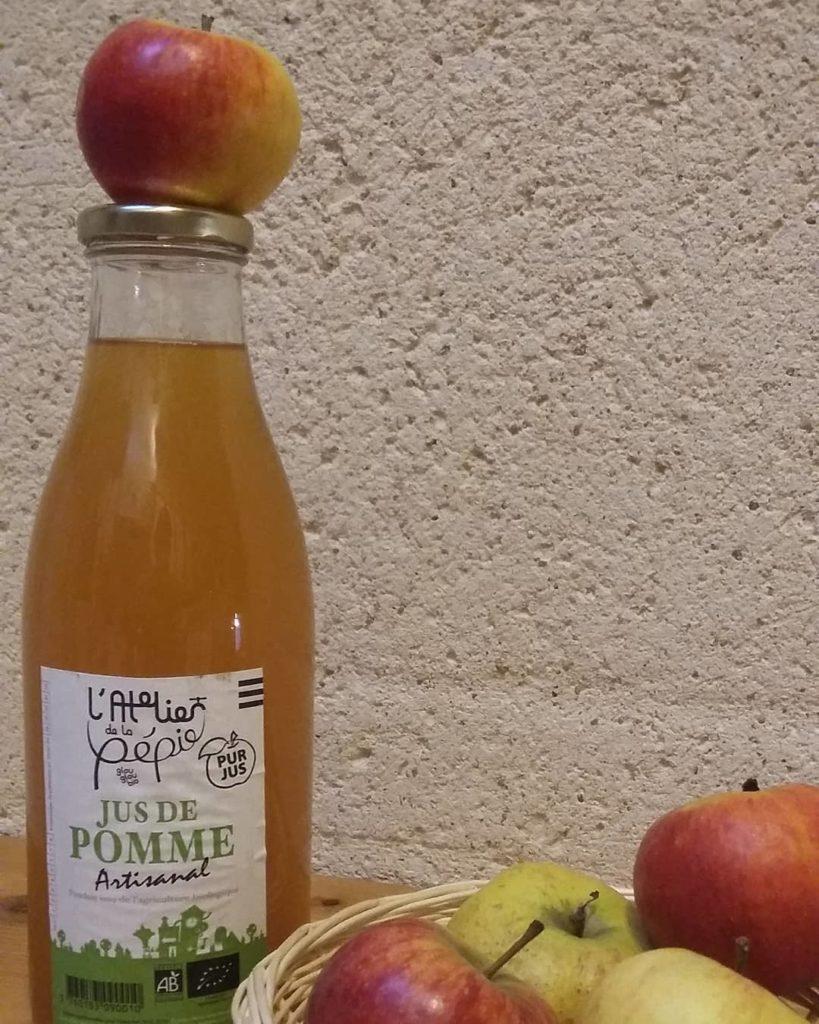 Jus de Pommes Atelier de la Pépie Pluherlin